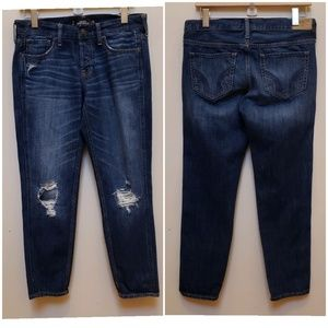 Hollister Vintage Boyfriend Distressed Jeans